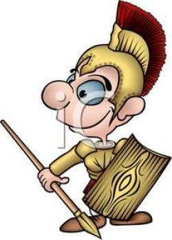 Gladiator clipart cartoon