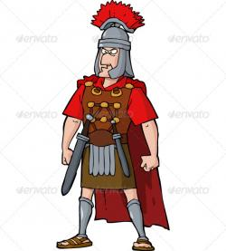 Roman Warriors clipart roman person