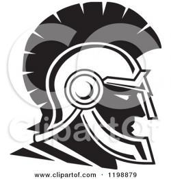 Trojan clipart trojan helmet