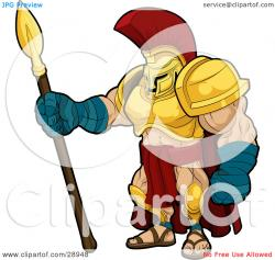 Gladiator clipart warrior