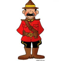 Canada clipart mountie