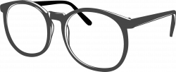 Geek clipart spectacles frames