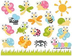 Bugs clipart adorable