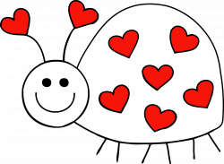 Lady Beetle clipart love bug