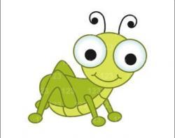 Grasshopper clipart little