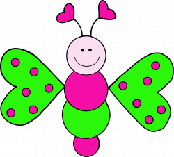 Bugs clipart butterfly