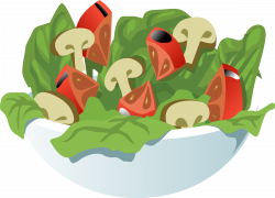 Salad clipart transparent