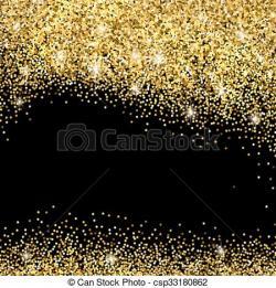 Sparkles clipart gold sparkles