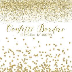 Sparklers clipart confetti