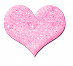 Hearts clipart pink sparkle