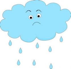 Gloomy clipart angry cloud