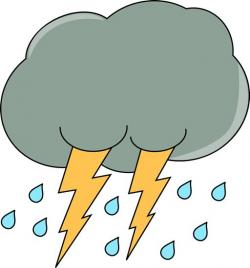 Thunder clipart rainy season