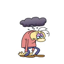 Gloomy clipart shame