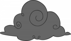 Lightening clipart dark cloudy day