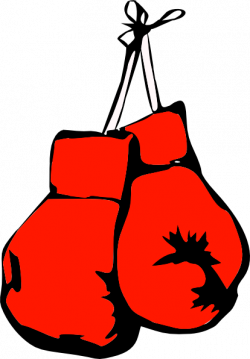 Boxer clipart kickboxing glove