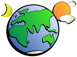 Moving clipart earth