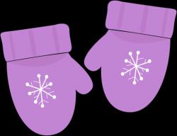 Glove clipart baby mitten