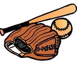 Glove clipart baseball game