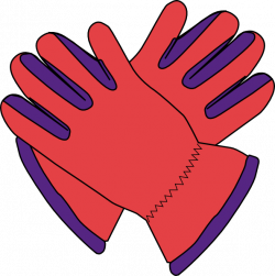 Glove clipart cartoon