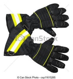Glove clipart firefighter