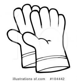 Glove clipart gardening tool