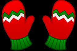 Glove clipart mitten