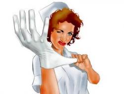 Glove clipart nursing