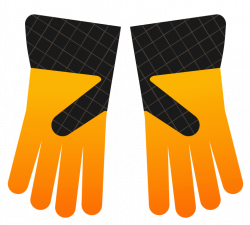 Glove clipart pair