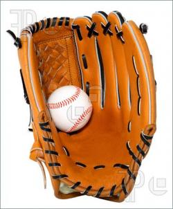 Glove clipart softball glove