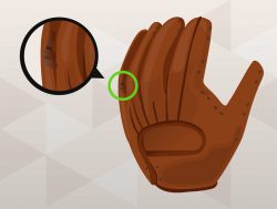 Glove clipart space
