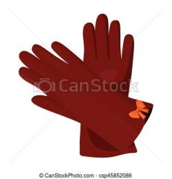 Glove clipart winter accessory