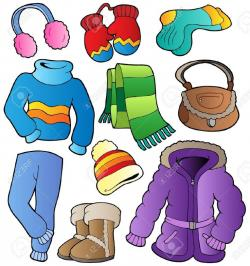 Glove clipart winter dress