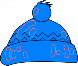 Capped clipart winter cloth