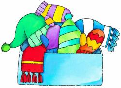 Glove clipart winter jacket