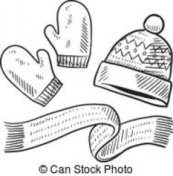 Glove clipart wool clothes