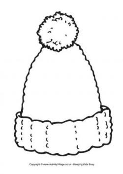 Drawn hat woolly