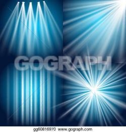 Glow clipart stage light