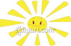 Sunbeam clipart glow