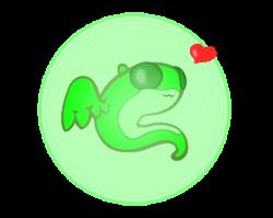 Glowworm clipart green animal
