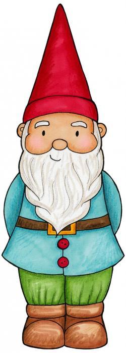Dwarf clipart garden gnome