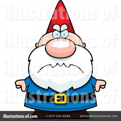 Gnome clipart angry