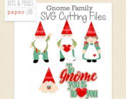 Gnome clipart family
