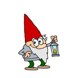 Gnome clipart lawn