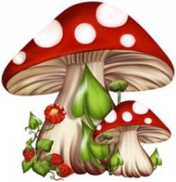 Wallpaper clipart mushroom