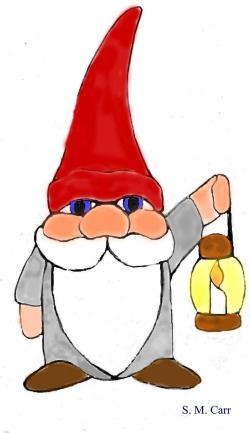 Gnome clipart swedish