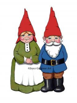 Gnome clipart woman