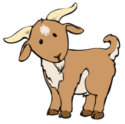 Ibex clipart billy goat