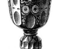 Goblet clipart antique