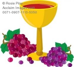 Grape clipart chalice