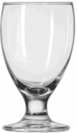 Goblet clipart glassware